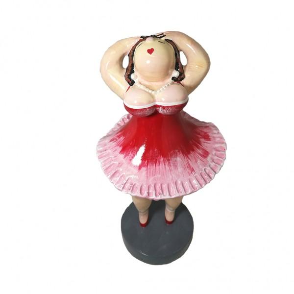 Ballet Ballerina 25x15cm large red Color