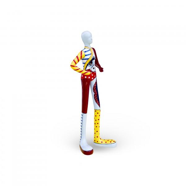 Gia-Man 50cm medium PopArt yellow Color #A