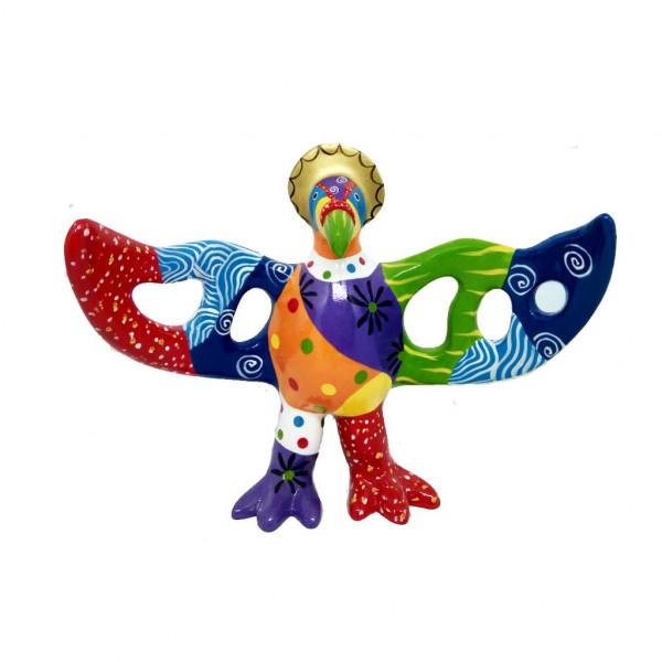 Firebird standing small 22x20cm Color B