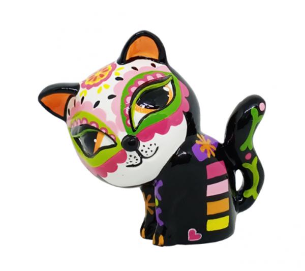 """Tisha Cat 11x17cm """"Dia de Muertos"""" Color B"""