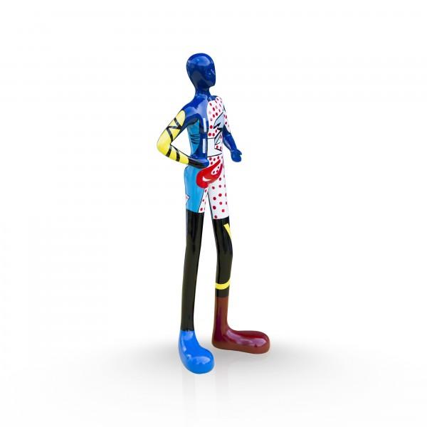 Gia-Man 50cm medium PopArt blue Color #B