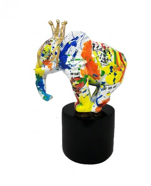 Elephant King Jumbo 15x20cm Decopauge Color A