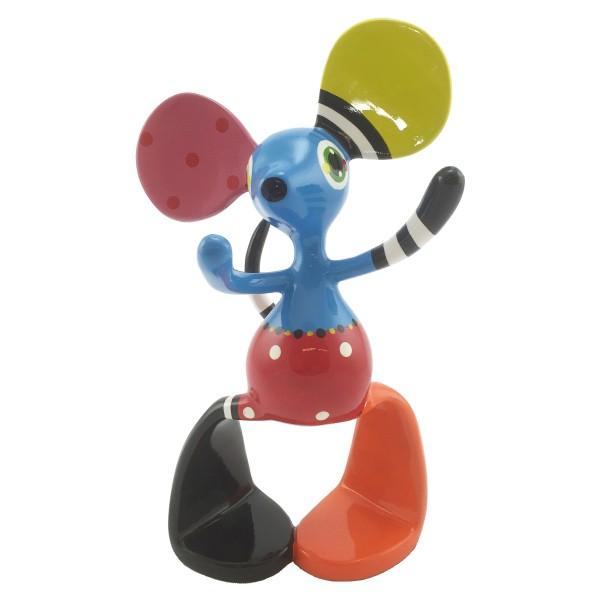 Jacky Happy Moose Mouse standing medium 31cm Color B