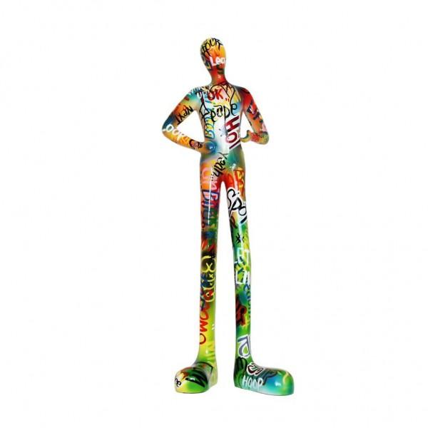 Gia-Man medium 52x22cm Graffiti Color C