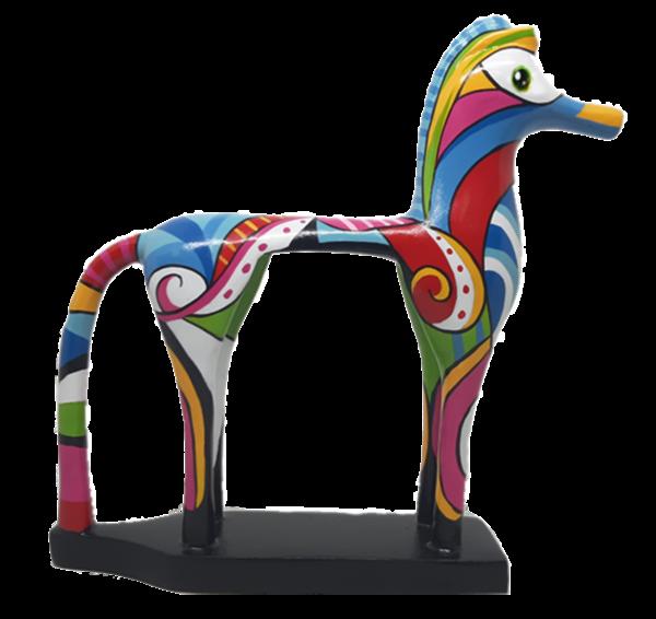 Greek Horse Antik small 22x21cm Color A